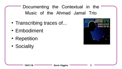 A Powerpoint presentation about jazz